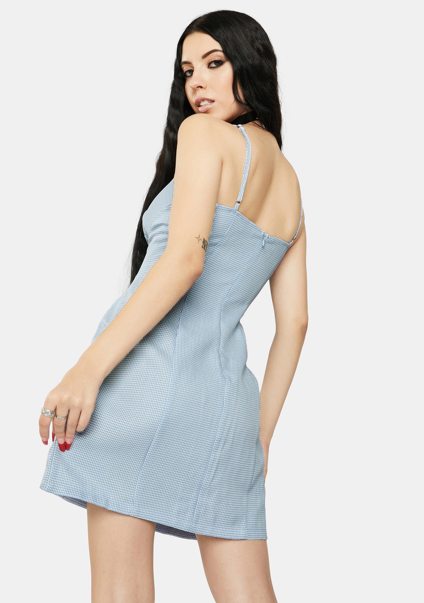 Twiin Topaz Match Mini Dress