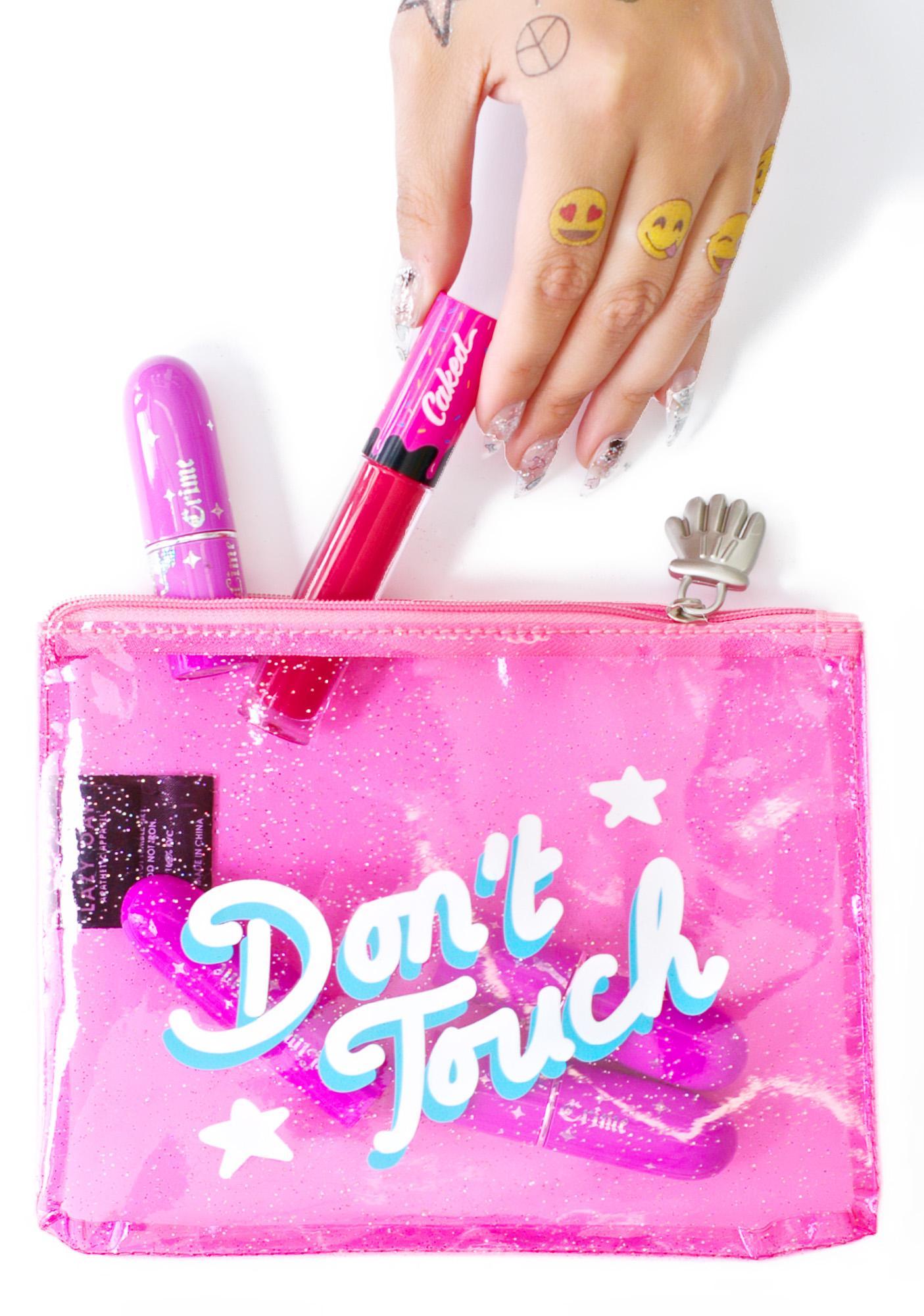 Lazy Oaf Don't Touch Glitter Case