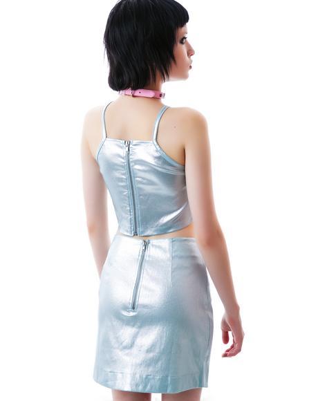 Missouri Metallic Skirt