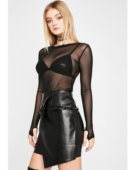 Bewitched Easy Attraction Mini Skirt