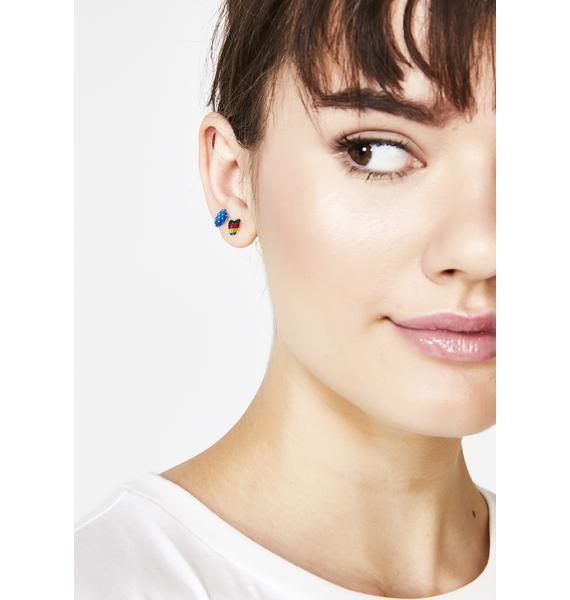 Hidden Gems Sticker Earrings Pack
