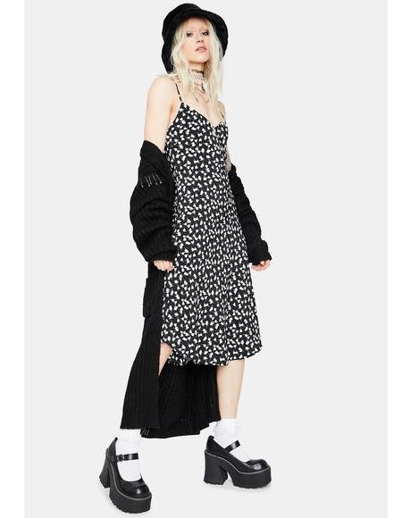 Dare To Dream Floral Midi Dress