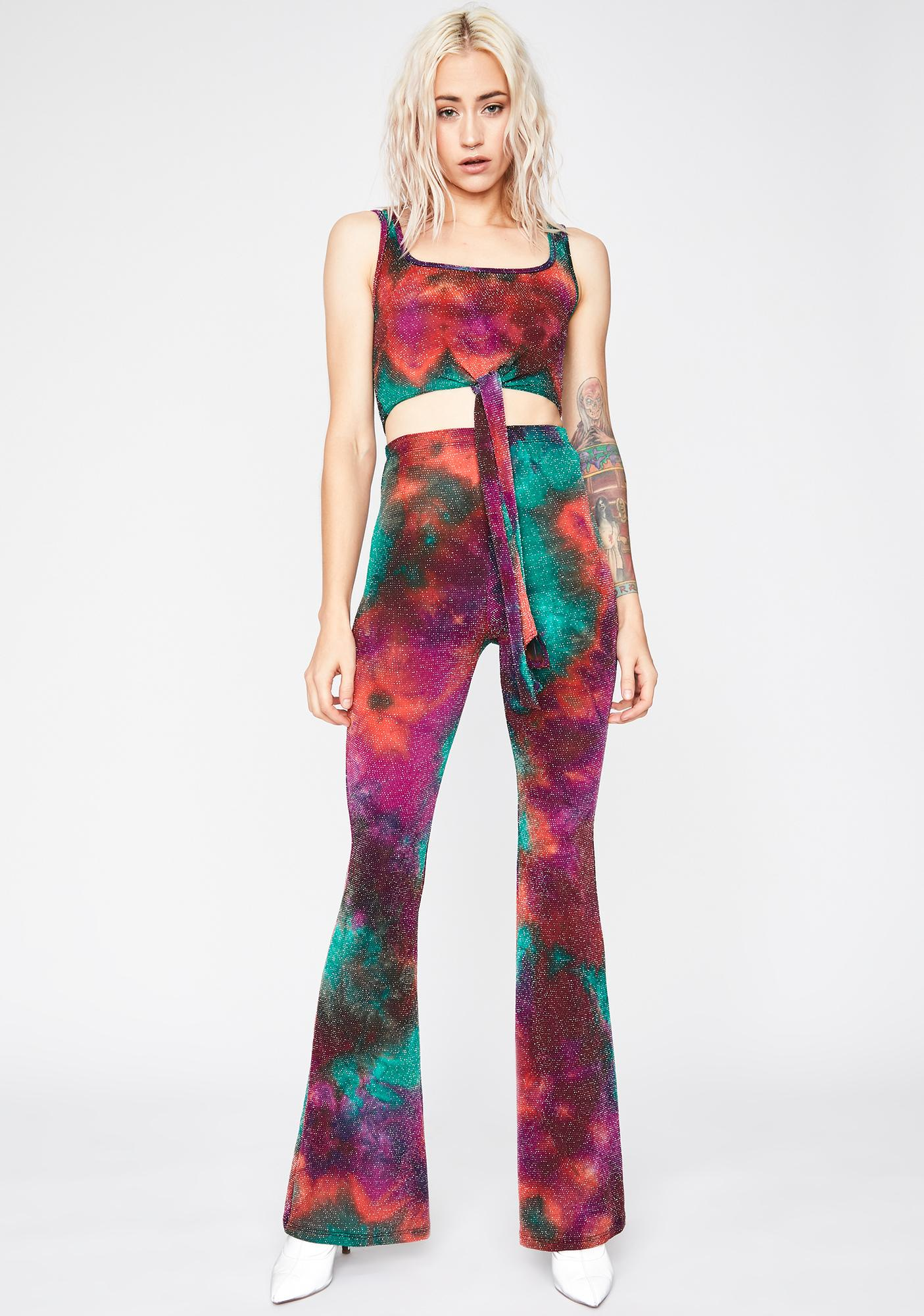Ethereal Urges Tie Dye Pant Set