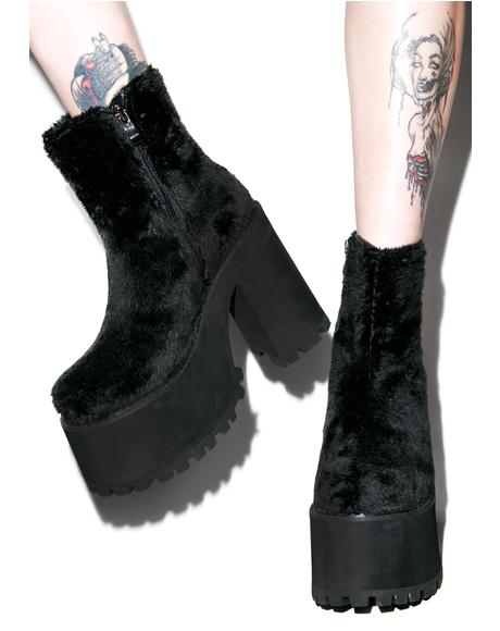 Funky Fur Boogie Boots
