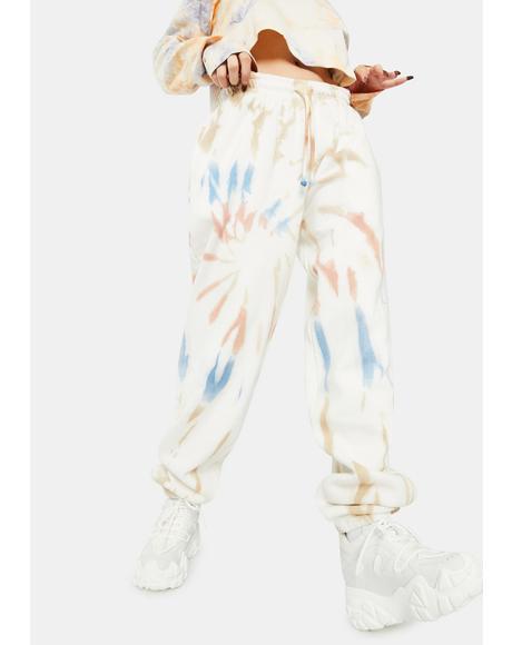 Spiral Tie Dye Sweatpants
