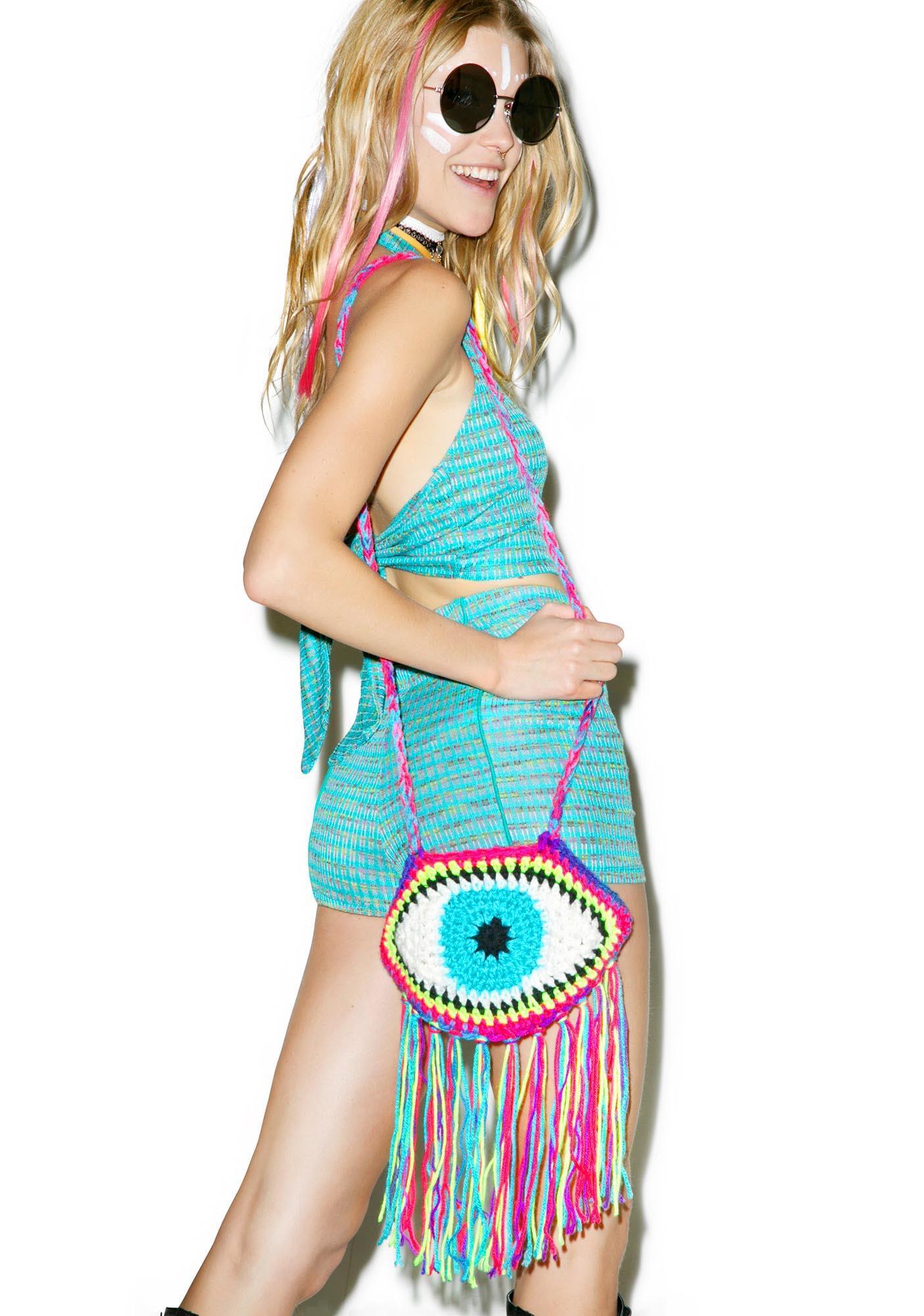 Third Eye Fringe Bag