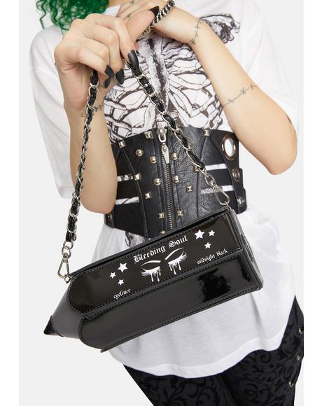 Bleeding Soul Eyeliner Crossbody Bag