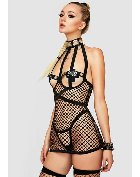 Can U Show Me Fishnet Set