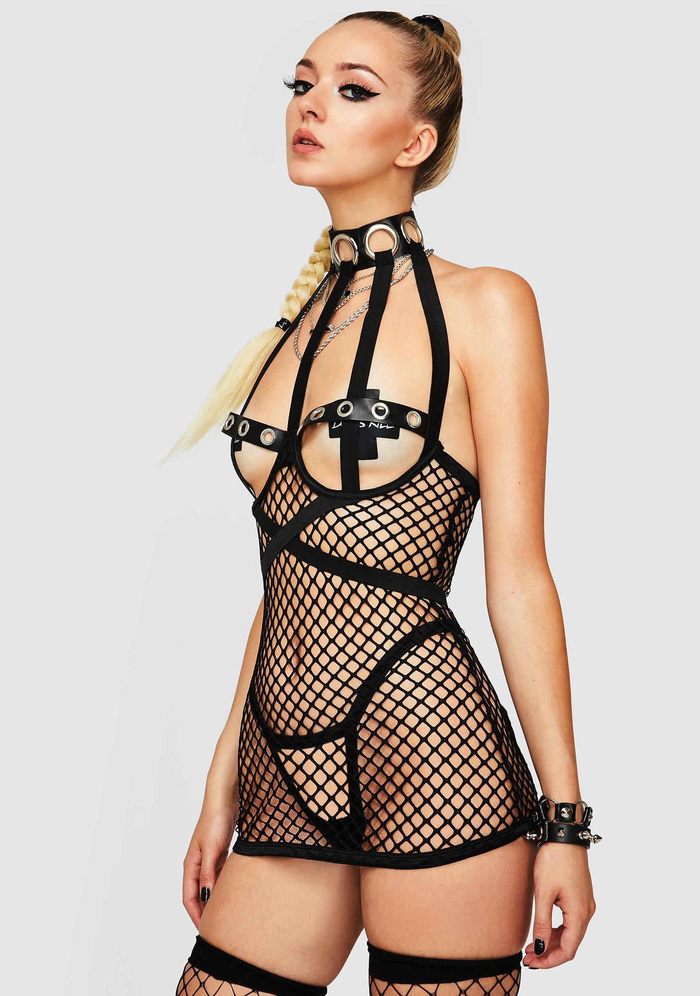 Can U Show Me Fishnet Set