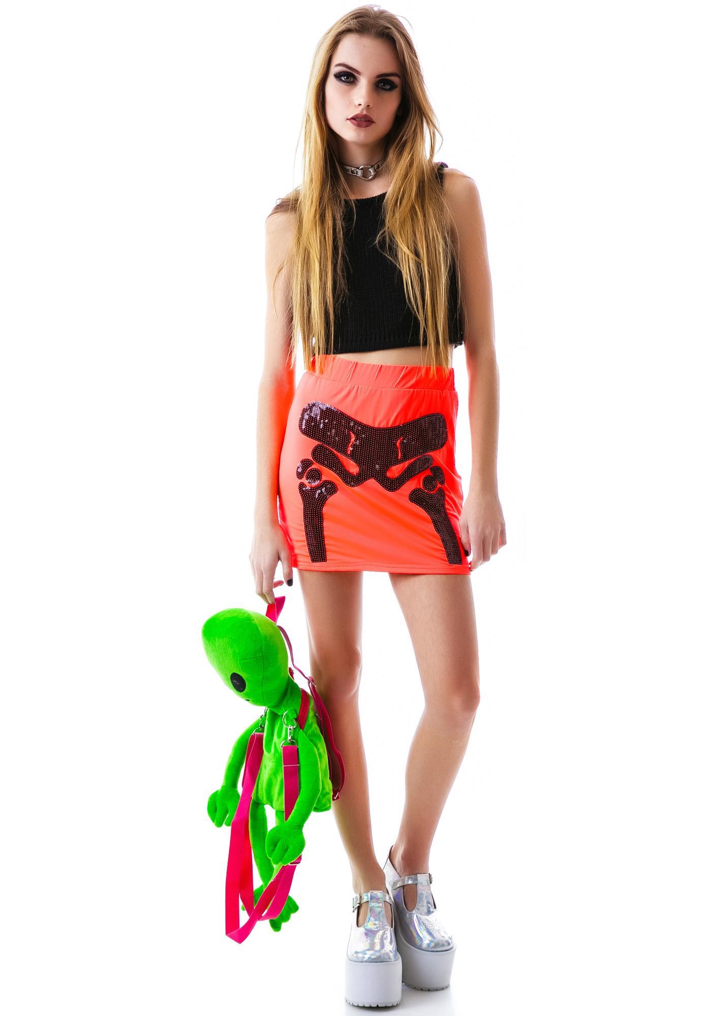 Exposed Bone Skirt