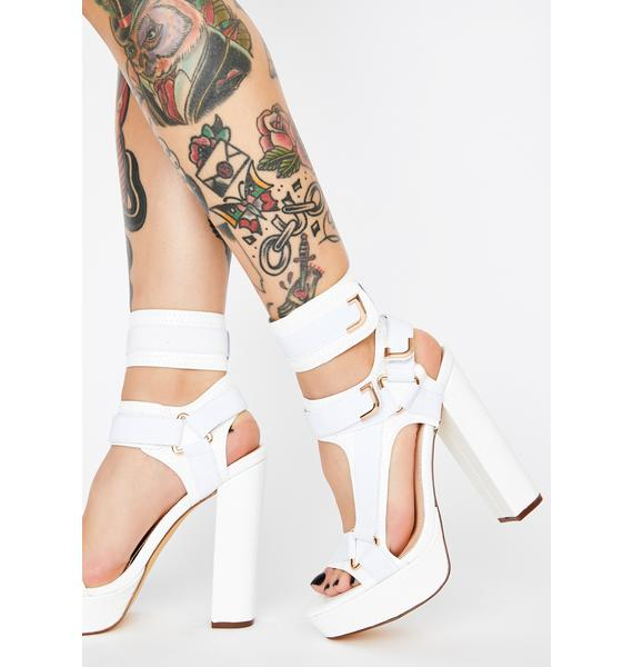 Blanc Revenge Plot Platform Heels