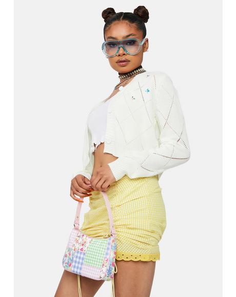 Paris Princess Diamond Knit Cardigan