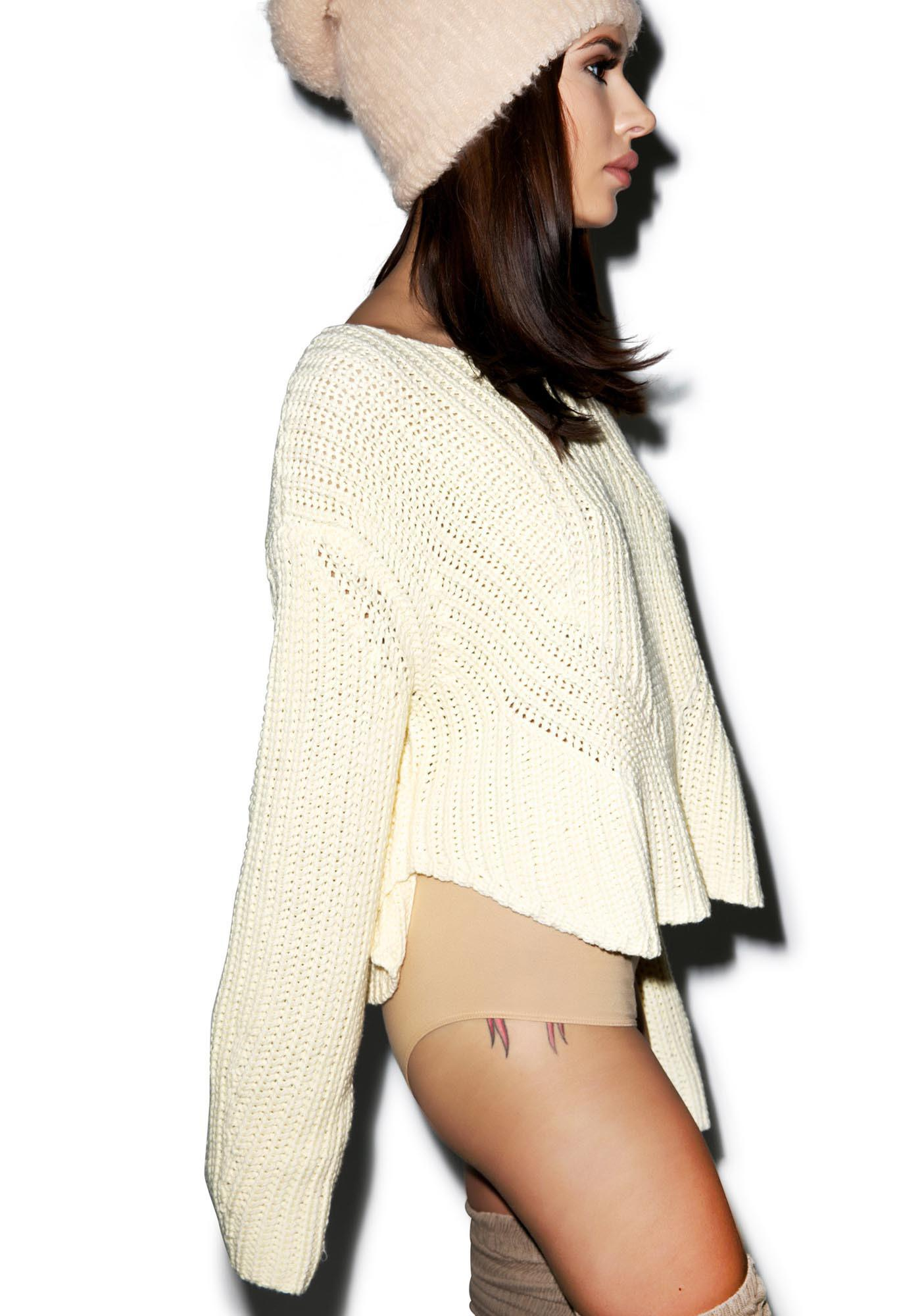 Somedays Lovin Strabo Chunky Knit Sweater
