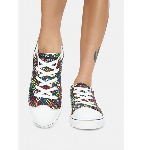 Skechers x JGoldcrown Hashtag Love Roadies Sneakers