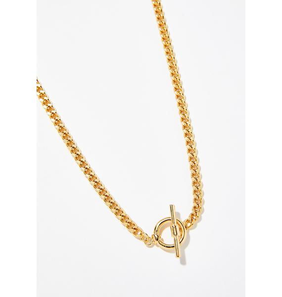 Feelin' Boujee Chain Necklace