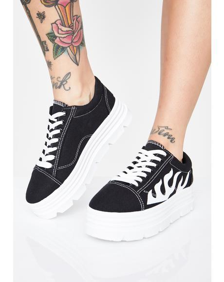 The Furies Platform Sneakers