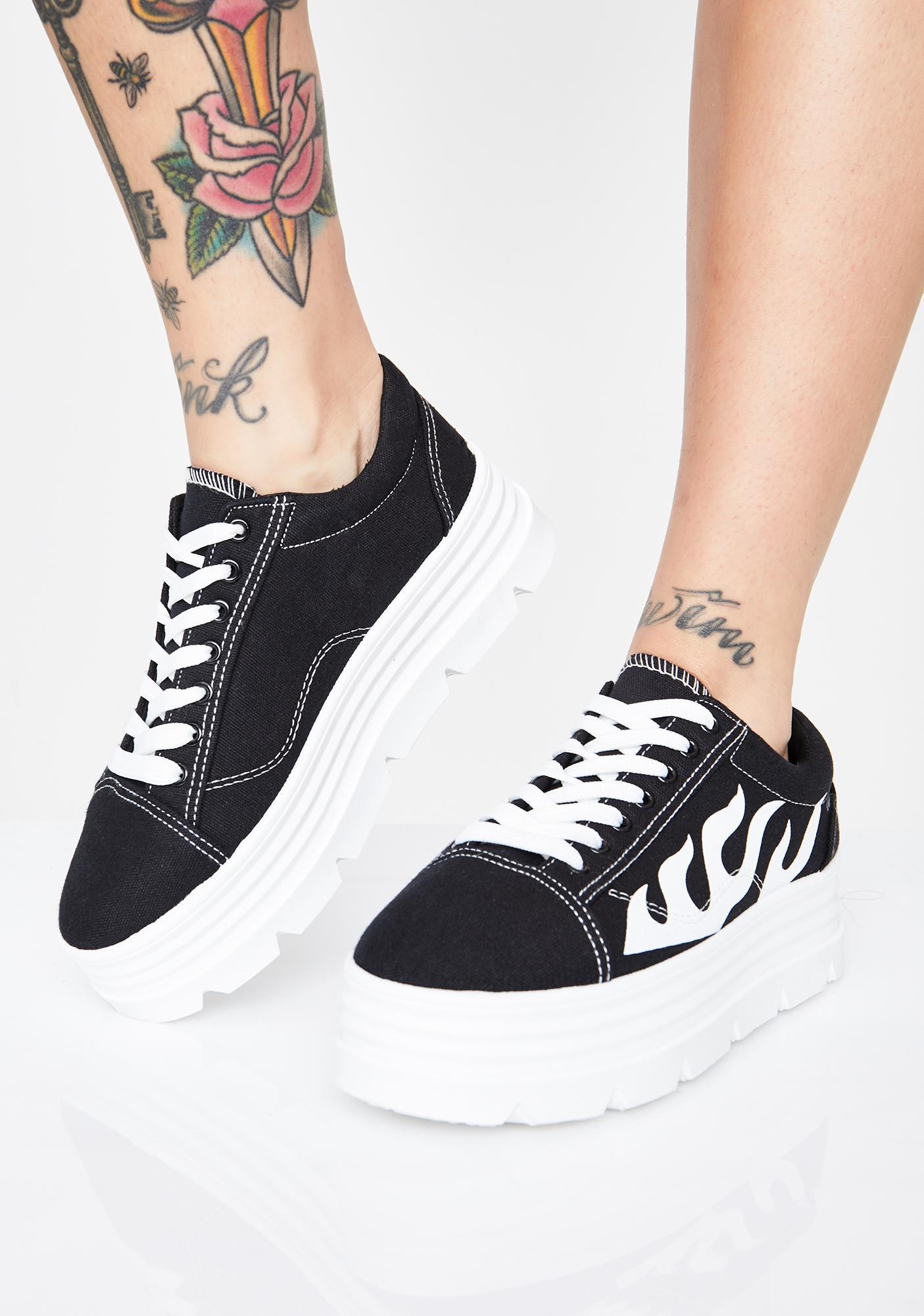 Koi Footwear The Furies Platform Sneakers