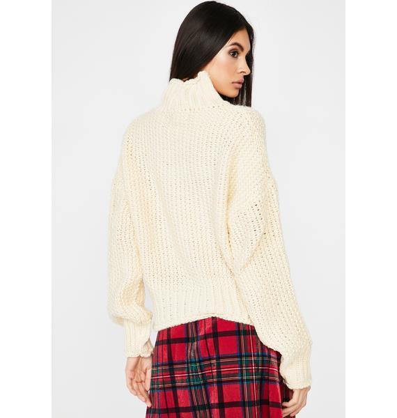 Corrupt N' Chill Knit Sweater
