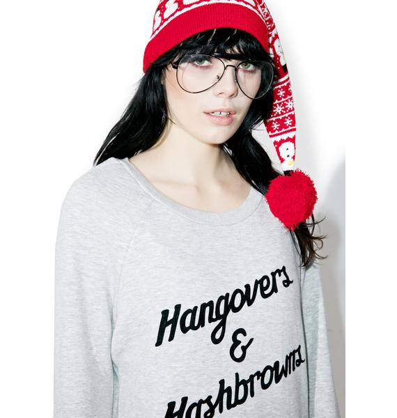 Mink Pink Hangover Cure Sweater