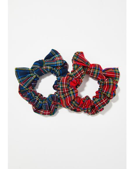 Festive Feelz Scrunchie Set