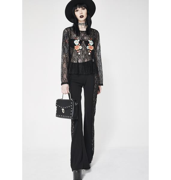 Glamorous Grow Fonder Embroidered Blouse