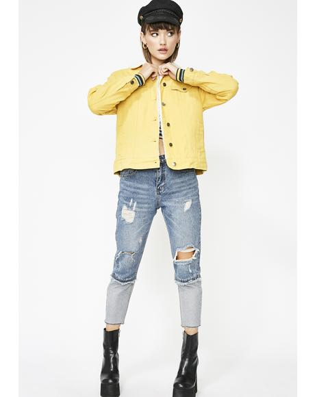Day Dreamer Denim Jacket