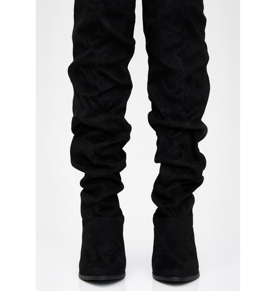 Le Chic Slouchy Boots