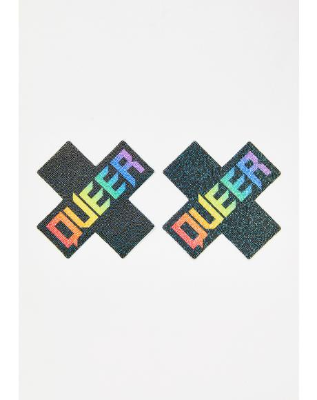 Queer Cross Pasties