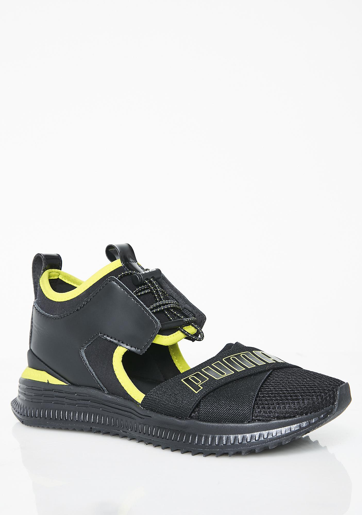 meet 3221d d58e9 Dark FENTY PUMA by Rihanna Avid Sneakers