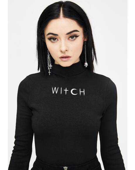 Fortune-Telling Witch Top