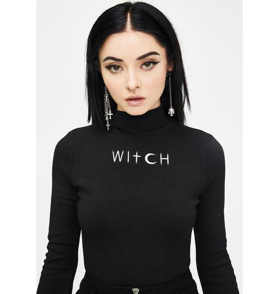Punk Rave Fortune-Telling Witch Top