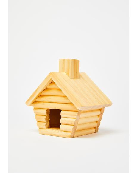 Cozy Cabin Incense Burner