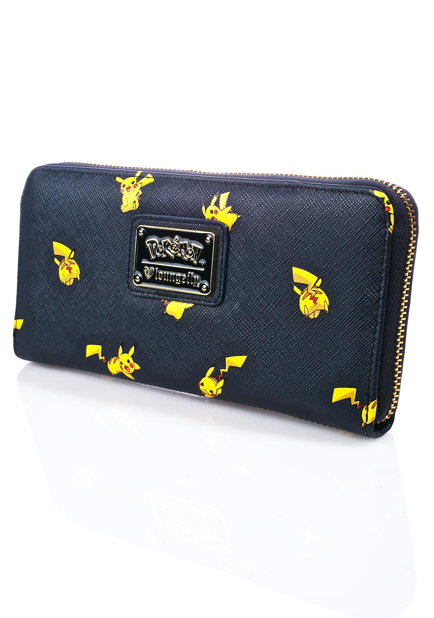 Loungefly X Pokémon Pikachu Print Wallet