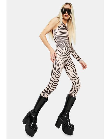 Viral Vertigo Printed Jumpsuit