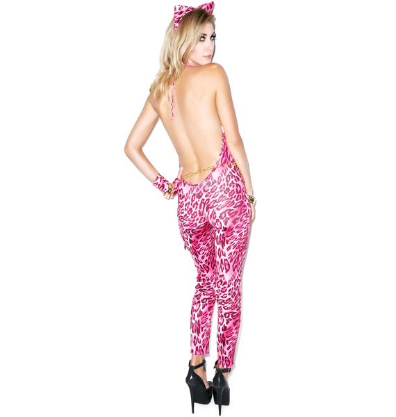 Return of the Pink Leopard Costume