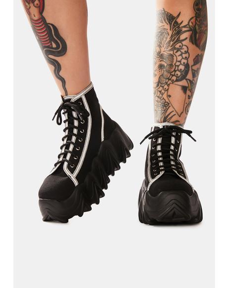 Sneakin' Away Chunky Platform Sneakers