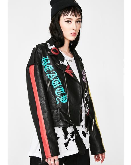 Posh Punk Moto Jacket