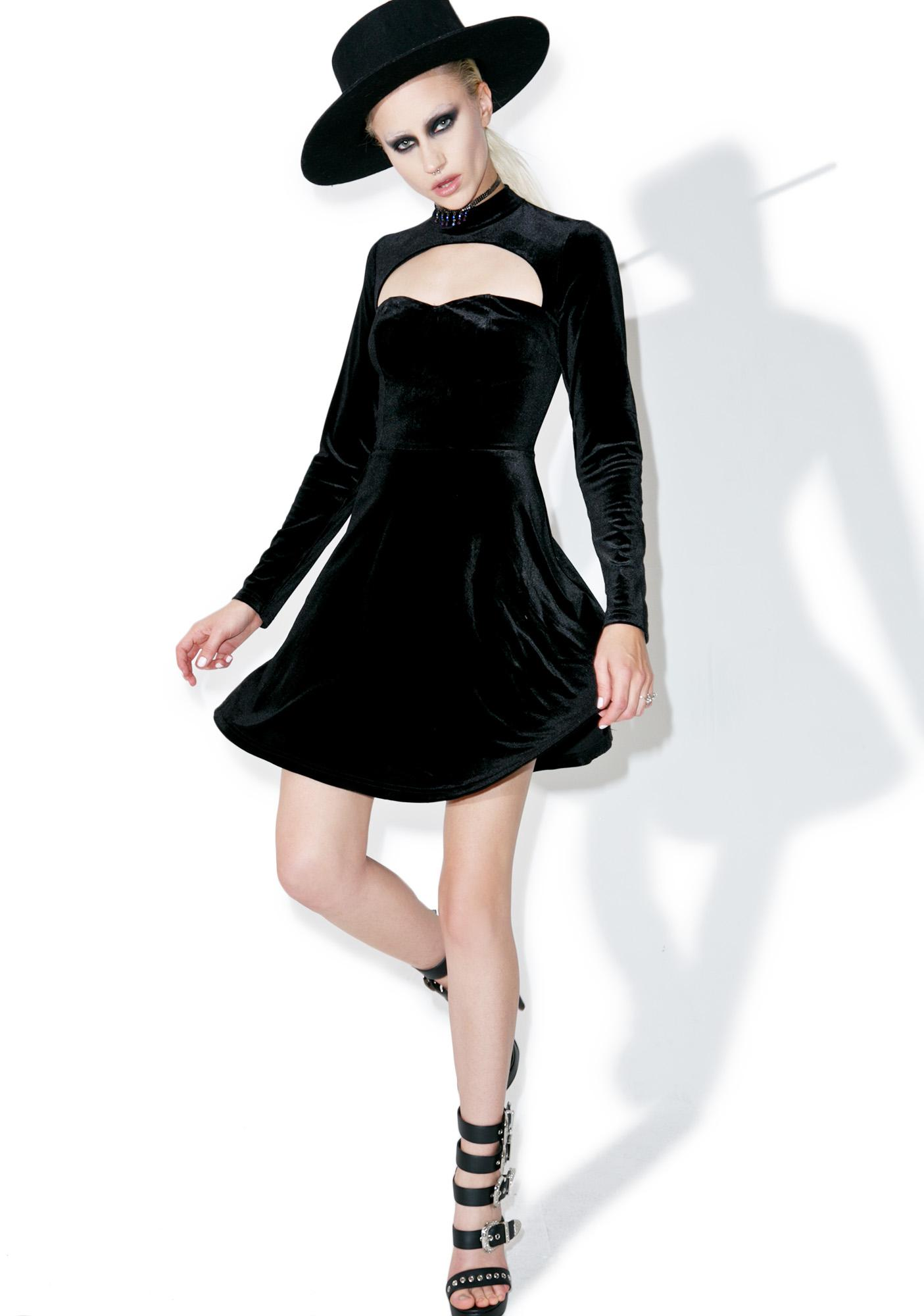 Glamorous Planet Luxxxury Skater Dress