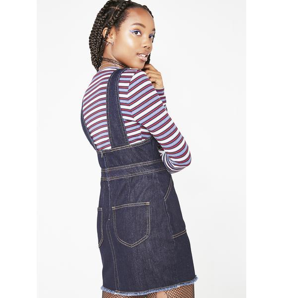 Dickies Girl Denim Overall Dress