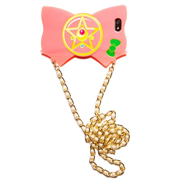 Crystal Star Bow iPhone 5 Case