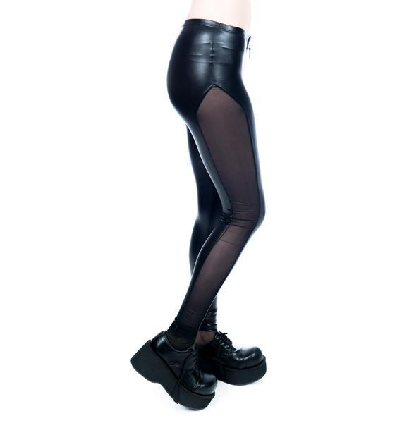 Lip Service Zip Front Leggings