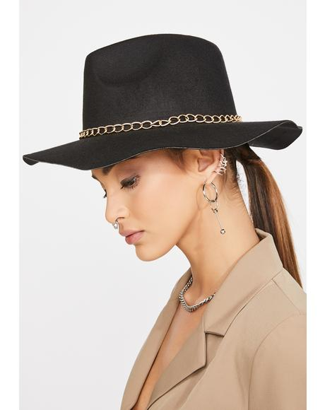 Out Of Office Wide Brim Hat