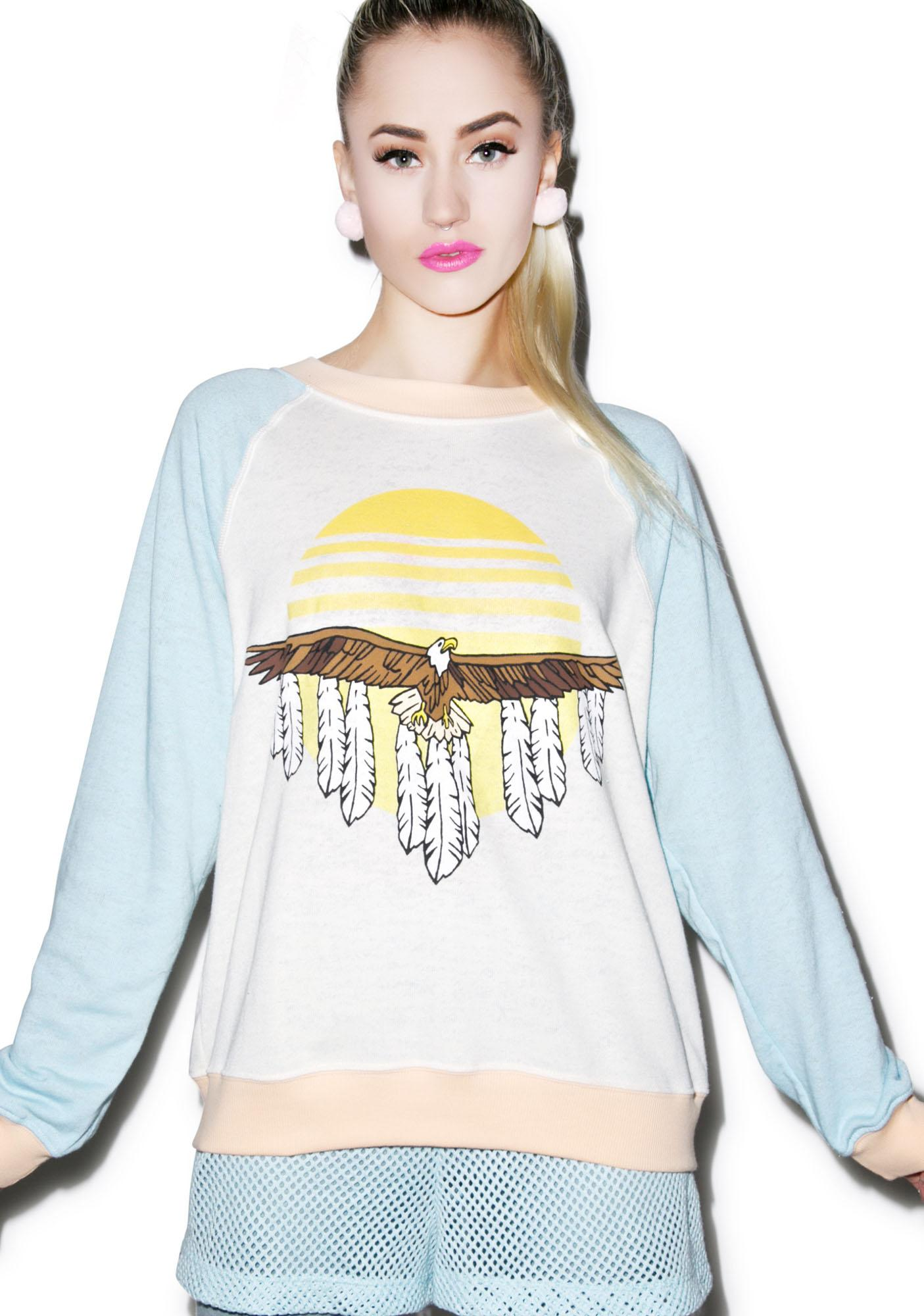 Wildfox Couture Eagle Kim's Sweater