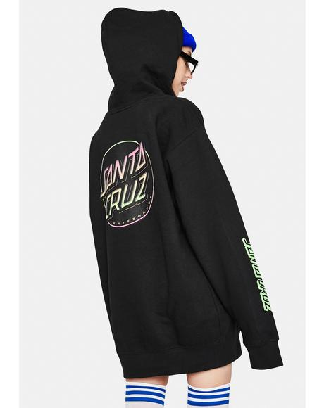 Contra Dot Graphic Pullover Hoodie