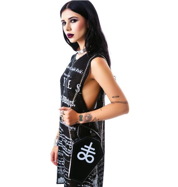 Killstar Coffin Handbag