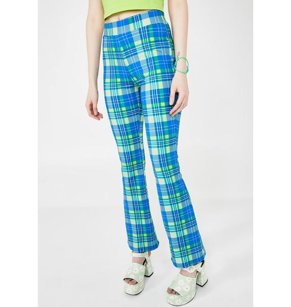dELiA*s by Dolls Kill IRL Queen Plaid Pants
