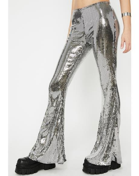 Chrome Illuminated Euphoria Sequin Pants