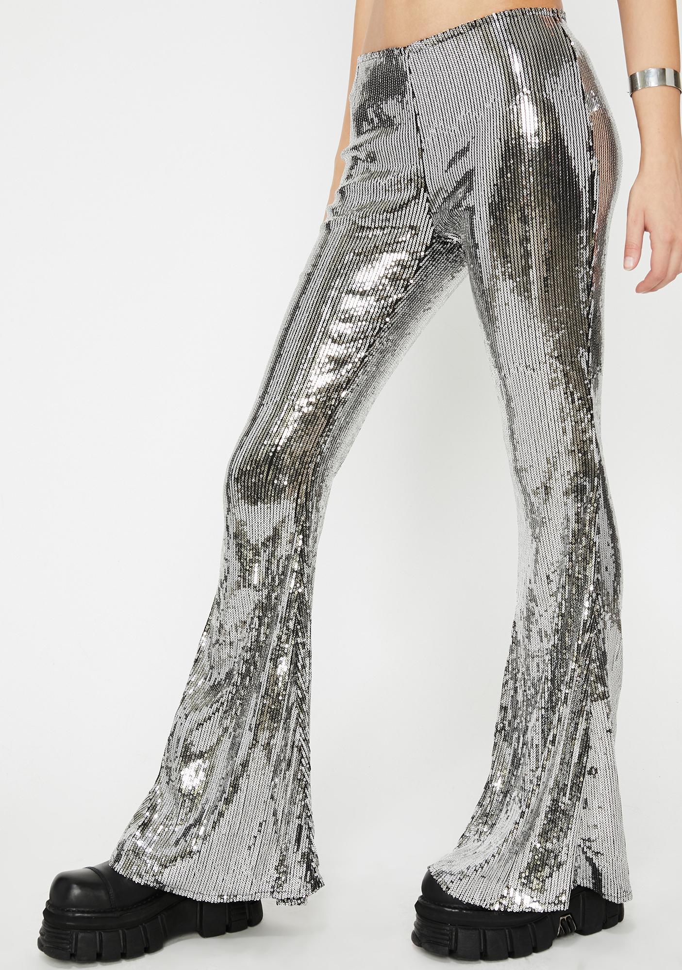 Chrome Illuminated Euphoria Sequin Pants