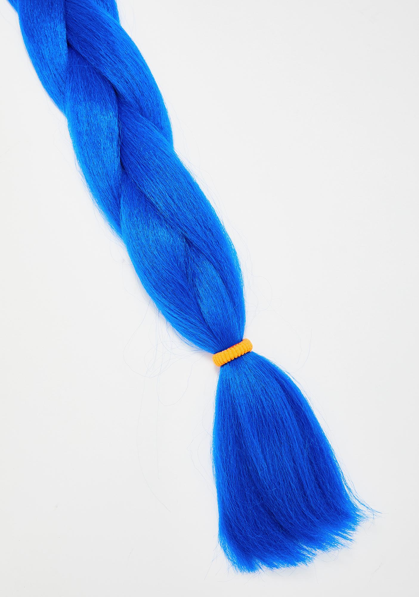 Go Get Glitter Neon Blue Add In Hair Extensions