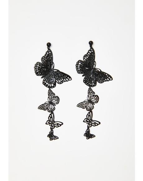 Fly To It Drop Earrings
